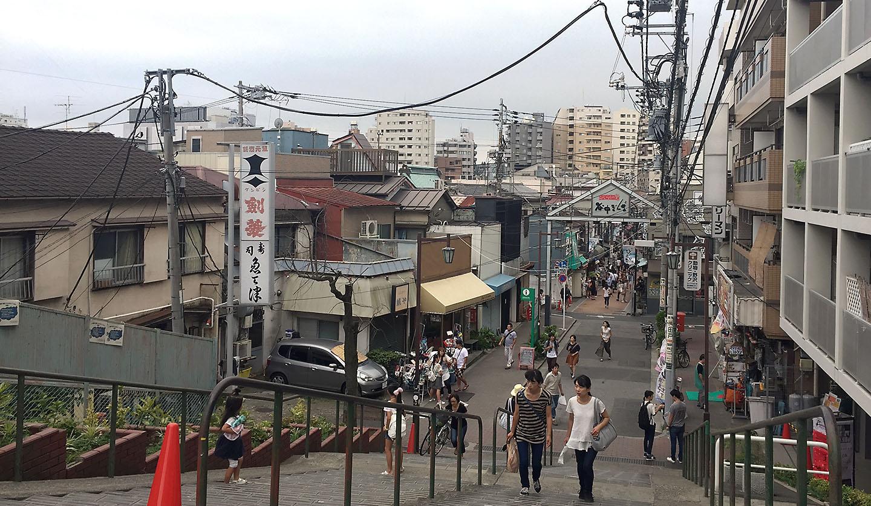 yuyake dandan,nippori