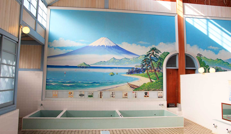 """sento"" is public bath,日暮里にある銭湯"